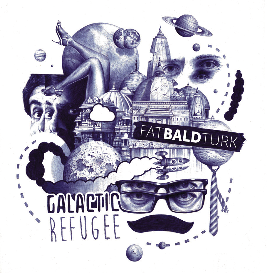 Galactic Refugee Album Image